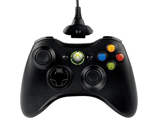MICROSOFT PDRQFF00009B Xbox 360 Wireless Controller with Transforming D-Pad and Play and Charge Kit