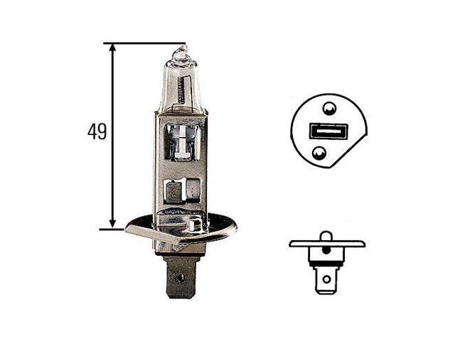 Hella H83115051 - H1 100W Head Light Bulb