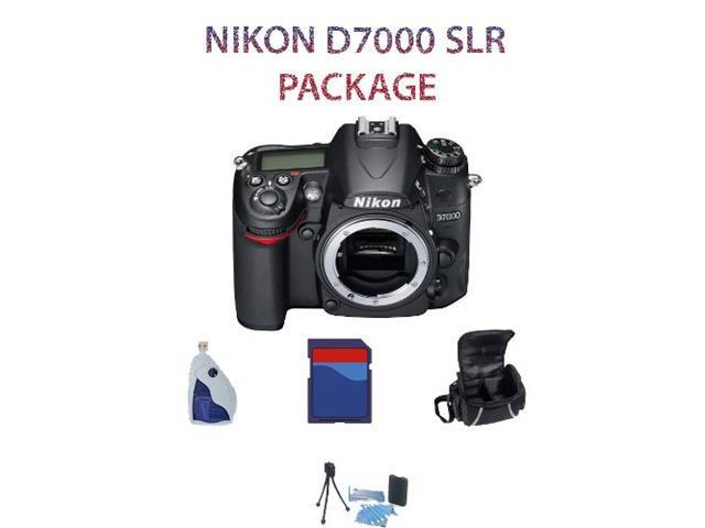 New Nikon D7000 SLR Digital Camera (Body) w/ 16GB - Body Package