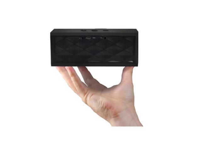 Sunset Electronics Soundbox Bluetooth Wireless Speaker with FM Radio, AUX, and Micro SD Support (Black)