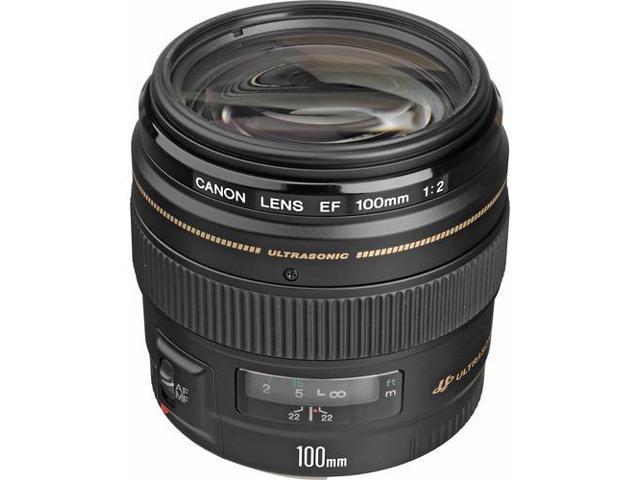 Canon EF 100mm f/2 USM Standard & Medium Telephoto Lens (Bulk Packaging)