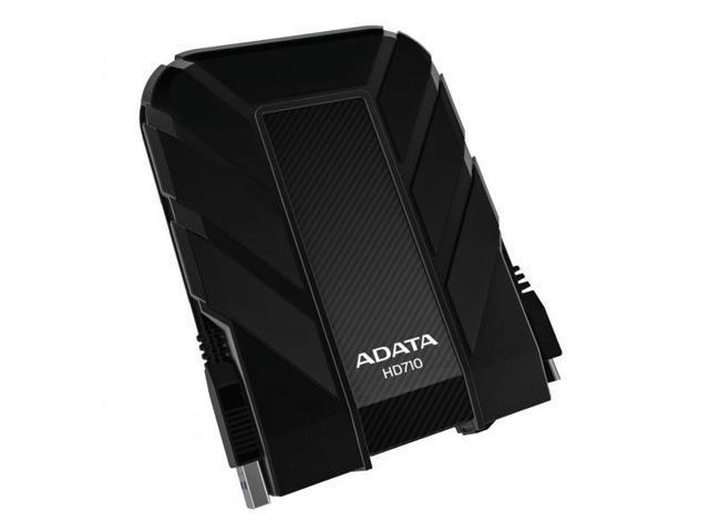 ADATA 2TB HD710 DashDrive Series USB 3.0 Durable Water & Shock Proof Portable Hard Driver Black Model AHD710-2TU3-CBK