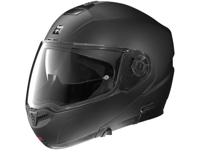 Nolan N104 Modular Solid Motorcycle Helmet Outlaw Flat Black XX-Large