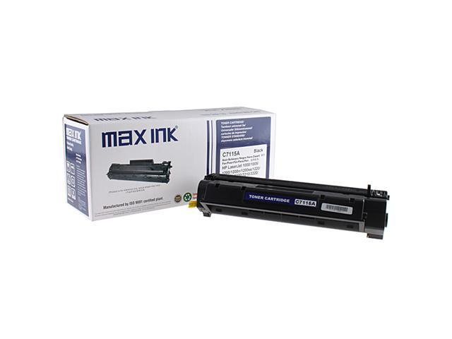 Max Ink Toner Print Cartridge for HP C7115A Compatible for HP LaserJet1000, 1005, 1200, 1200n, 1200se, 1220, 1220se, 3300, 3310, 3320, 3320n, ...
