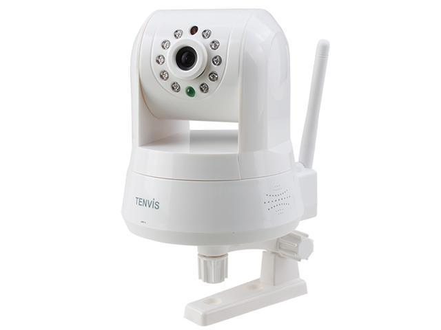 TENVIS® P2P H.264 1 Mega pixels Wireless Indoor IR WIFI IP Network Camera CCTV Nightvision - White IPRobot 3 Security Camera