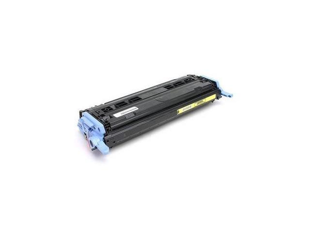 Toner to replace HP Q6002A (HP 124A) Toner Cartridge for the HP Color LaserJet CM1015mfp, CM1017mfp, 1600, 2600n, 2605dn, 2605dtn Printer - Yellow