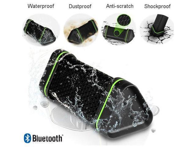AGPtek Portable Sports Waterproof Shockproof Wireless Bluetooth Speaker