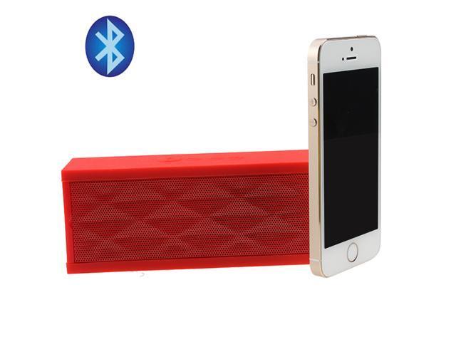 Portable Wireless Bluetooth V3.0 Boombox Speaker w/ Mic Microphone for Apple iPhone 5S, 5C; iPad Air, iPad Mini; Samsung Note III, Galaxy S4, S3 ...