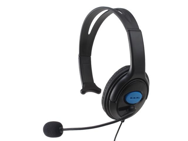 Chat Gaming Headset w/ Mic for PlayStation 4/ PS4