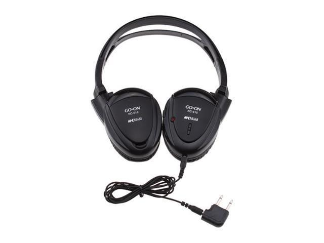 Brainydeal Noise Cancelling Headphones with Carrying Case and Dual Plug Adaptor