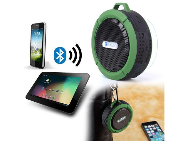 Waterproof Protable Bluetooth Speaker for Bathroom Shower Car Stereo Indoor/Outdoor Hands-free