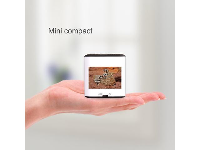 AGPTEK® The Marmot Mini Portable Wireless Bluetooth Speaker, CSR 4.0 Chipset, Built-in Mic, Pocket Size, Enhanced Bass Resonator, Powerful ...