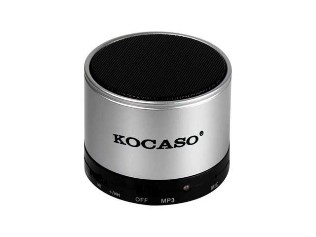 Kocaso GPCT459 TF Card Mini Bluetooth Speaker (Silver)