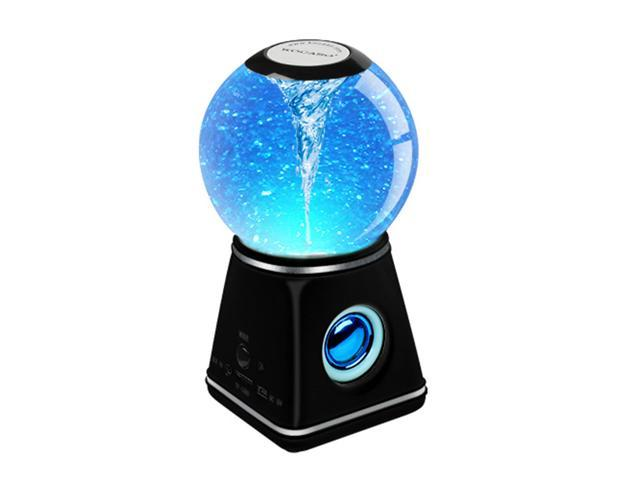 Wireless Bluetooth Speaker - Magic Crystal Ball with Water Dancing LED Tornado Effect