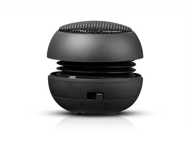 Hamburger Mini Speaker for MP3&MP4 Player, Sony PSP, iPod, iPhone and Notebook (Black)