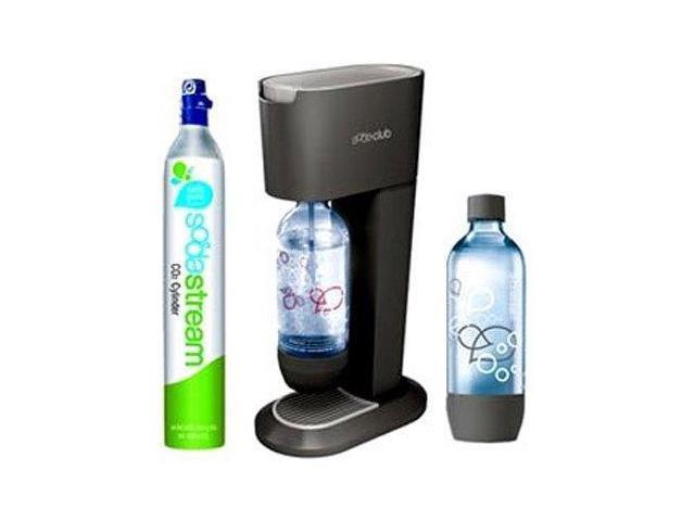 SodaStream 3-pc. Genesis Sparkling Water & Soda Maker, Black