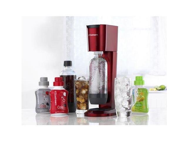 SodaStream Pure Sparkling Water & Soda Maker, Red