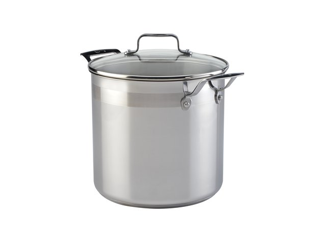 Emeril from All-Clad 8-qt. Chef's Stainless Stockpot,Chef'sStainless,SS,8-qt.