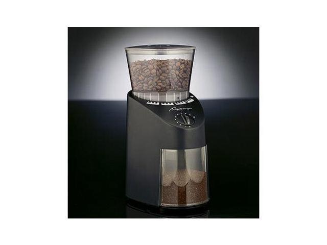 Jura-Capresso 8.8-oz. Burr Coffee Grinder, Black