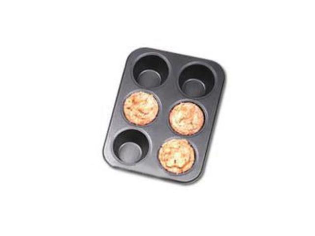 Chicago Metallic 6-c. Nonstick Professional Nonstick Giant Muffin Pan