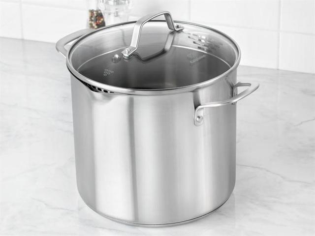 Calphalon 8-qt. Stainless Steel Classic Stainless Steel Stockpot