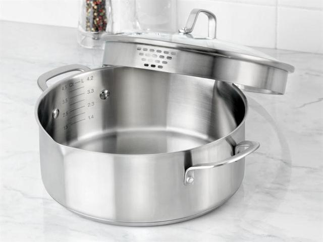 Calphalon 5-qt. Stainless Steel Classic Stainless Steel Dutch Oven