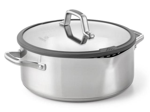 Calphalon 5-qt. Stainless Steel Simply Calphalon Easy System Dutch Oven with Lid