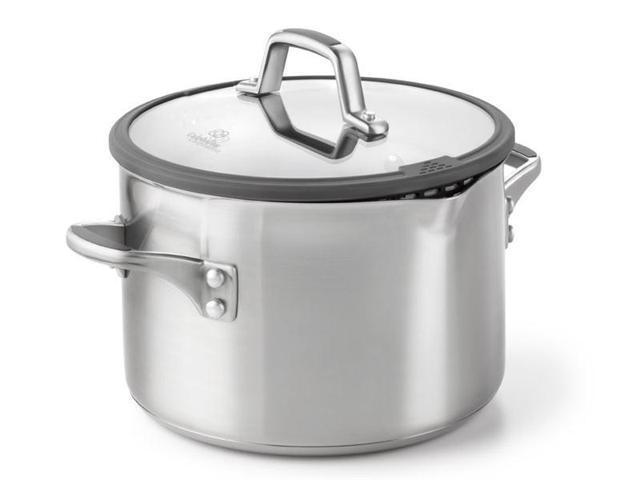 Calphalon 6-qt. Stainless Steel Simply Calphalon Easy System Stockpot with Lid