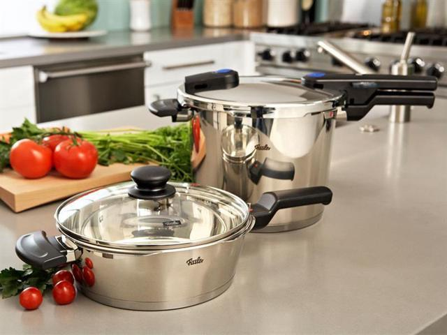 Fissler 4-pc. Vitaquick Quattro Pressure Cooker Set