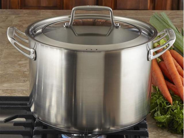 CHEFS 12-qt. Stainless Steel Stockpot