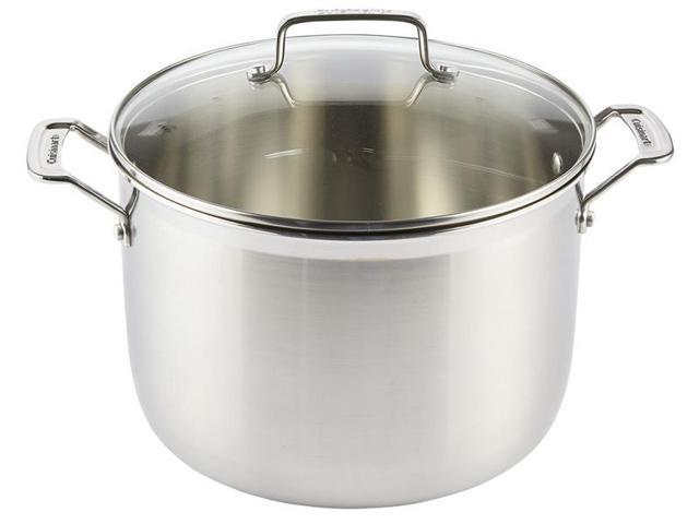 Cuisinart 12-qt. Stainless Steel MultiClad Pro Stockpot with Glass Lid