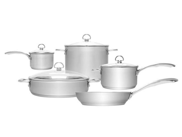 Chantal 9-pc. Stainless Steel induction21 Cookware Set