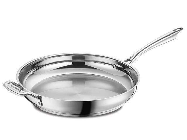 Cuisinart 12-in. Stainless Steel Professional Series Skillet
