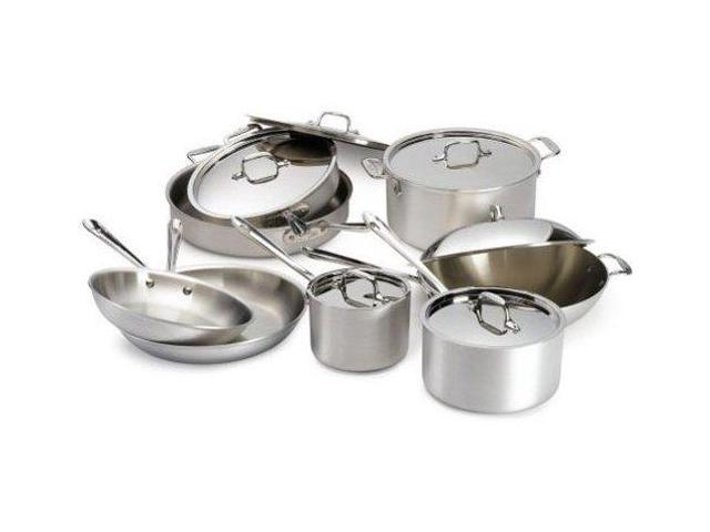 All-Clad 14-pc. Stainless Steel MC2 Cookware Set
