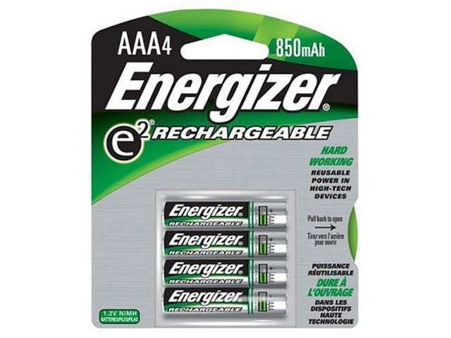New Energizer Rechargeable Nimh Aaa Batteries Per 4 For High-Drain Or Frequently-Used Devices -