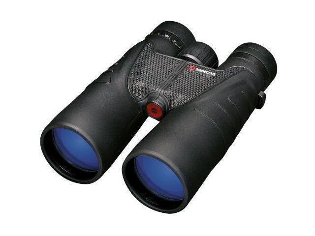 Simmons Prosport 12X 50Mm Roof-Prism Waterproof/Fogproof Binoculars (Black) - Simmons