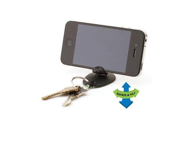 Tiltpod iPhone 4/4S tripod keychain stand - Tiltpod