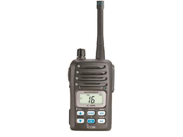 Icom M88 Is Hh Vhf Intrinsically SafeIcom M88 Instrinsically Safe (Is) Handheld Vhf Radio