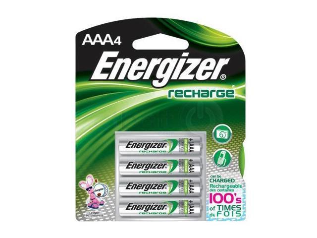 Energizer AAA NIMh Rechargeable Batteries 4 Pack - NH12BP4 - Batteries