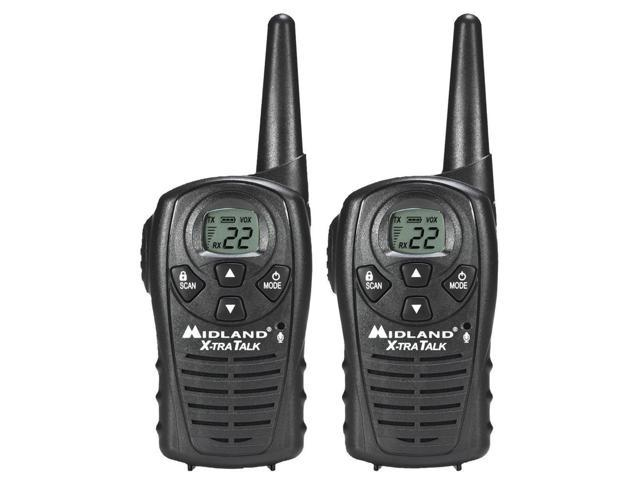 Midland Lxt118 22 - Channel 18 - Mile Frs/Gmrs Two - Way RadioMidland Lxt118 22 Channel Gmrs Radios - Black