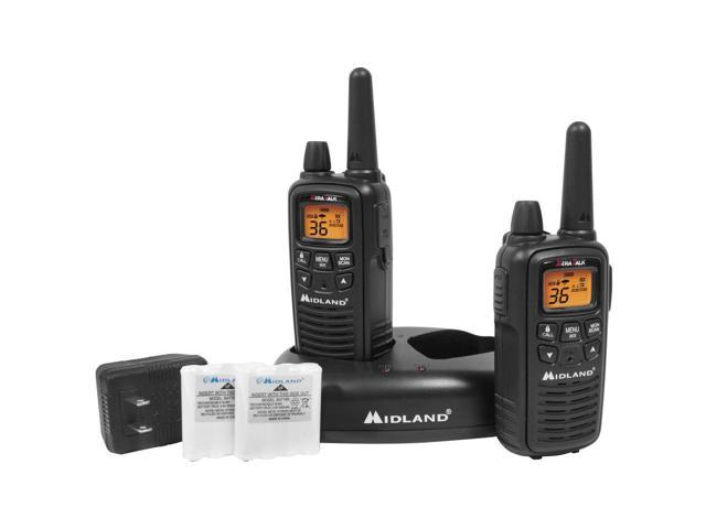 Midland LXT600VP3 36 Channel GMRS Radios - Black-Outdoor | FRS/GMRS Radios,Campi
