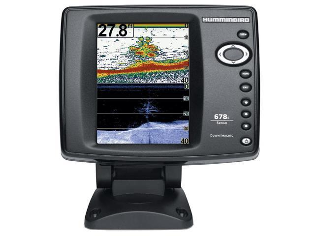 Humminbird 409430-1 678C Hd Di Sonar Only Fishfinder With Down Imaging