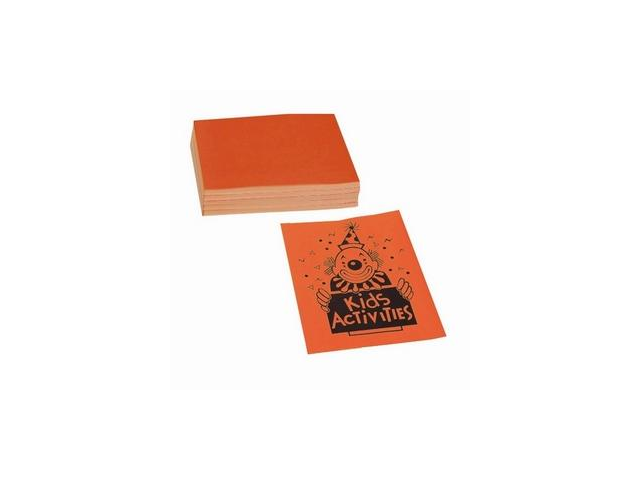 Pacon Corporation PAC104318 Neon Bond Paper- 24 lb.- 100 Sheets- 8-.50in.x11in.- Neon Orange