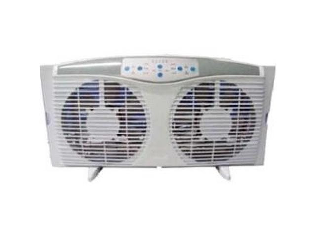 Optimus 8 Quot Electrically Reversible Twin Window Fan With