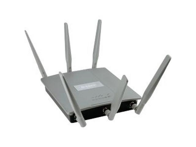 D-Link AC1750 Plenum Rated Dual-Band PoE Access Point with two Gigabit Ports and AP Manager Controller
