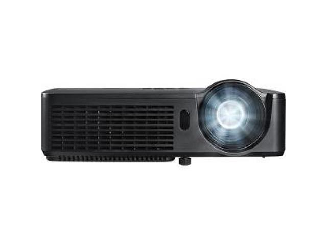 InFocus IN114A 1024x768 XGA 3000 Lumens HDMI 1.4 & Dual VGA Inputs, Brilliant Color Tech, Compact Design, 24 Language Menu, 3D Ready DLP Projector