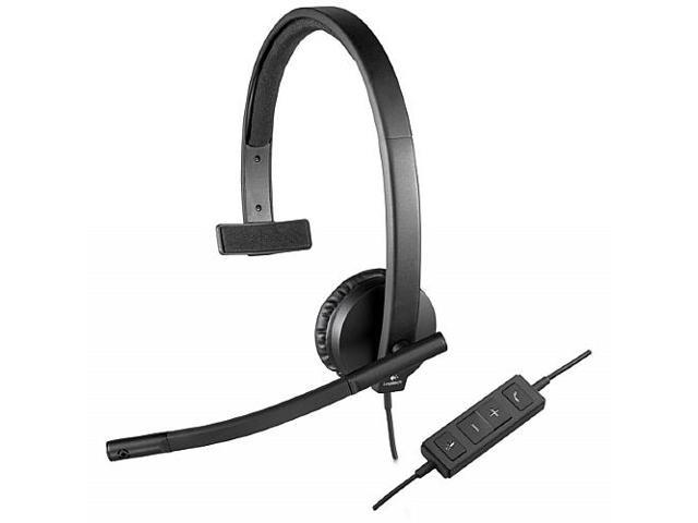Logitech 981-000570 USB Connector USB Headset H570e Mono
