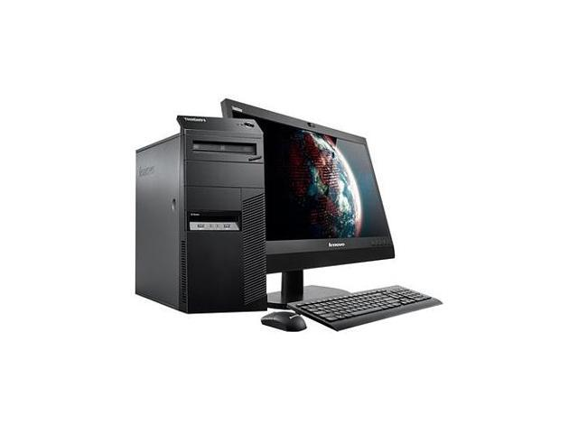 Lenovo ThinkCentre M93p 10A7003SUS Desktop Computer - Intel Core i7 i7-4790 3.60 GHz - Mini-tower - Business Black