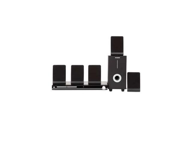 Sylvania DVD Home Theater System - 5.1 Channel, DVD Player, Progressive Scan Feature, 450 Watts Total Output, Audio Inputs, Full Function Remote ...