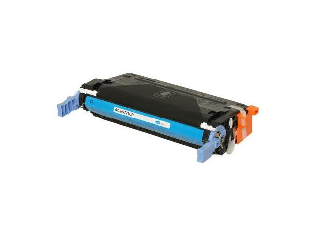 Compatible Cyan Toner Print Cartridge for HP C9721A Color LaserJet 4600, dn, dtn, hdn, n, 4610n, 4650, dn, dtn, hdn, n